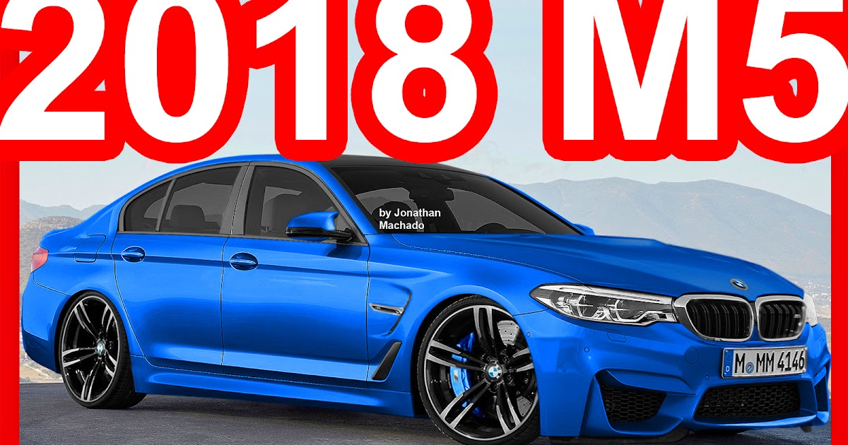 CARWP: PHOTOSHOP New 2018 BMW M5 F90 AWD 4.4 Water ...
