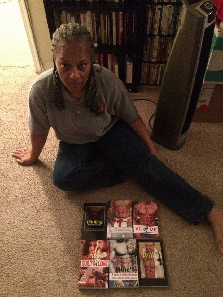 A Fabulous Reader Who Got 6 of My Paperback Novels!!!