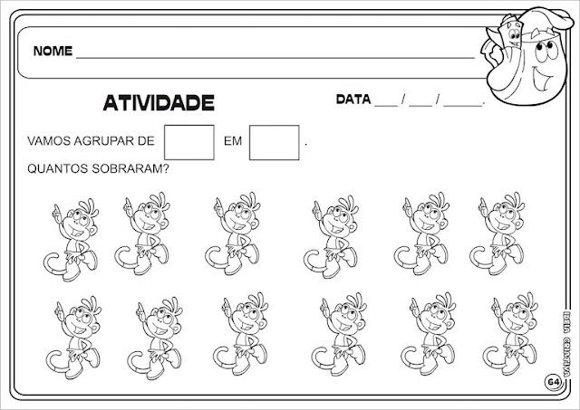 Atividade agrupamento Dora Aventureira