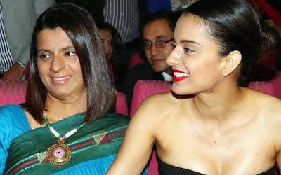 Heroin-Kangana-Ranaut-shares-latest-look-on-Jayalalitha-birth-anniversary-Andhra-Talkies