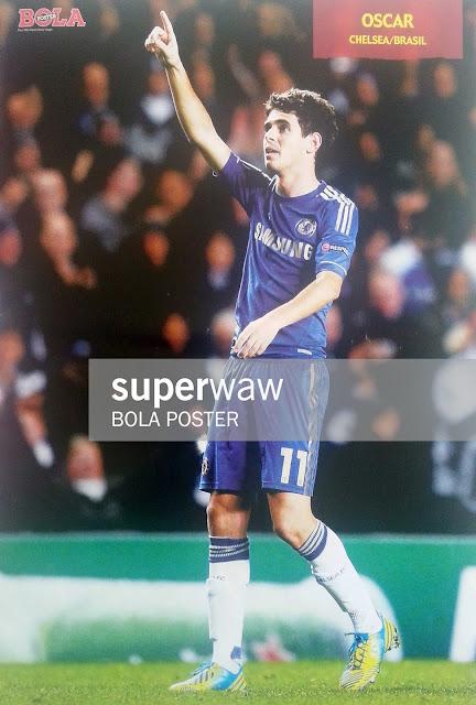 Oscar Chelsea FC 2012