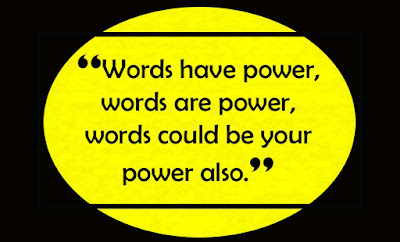 Power of words quotes