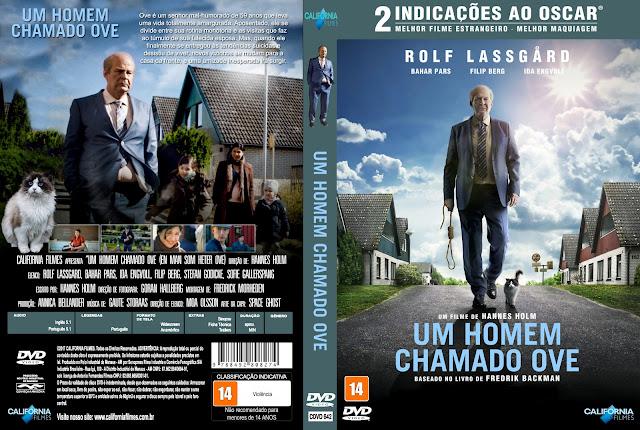 Capa DVD Um Homem Chamado Ove