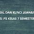 Soal dan Kunci jawaban PTS IPS Kelas 8 Semester Ganjil