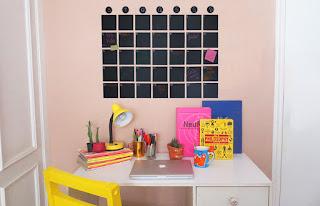Tutorial para se organizar melhor: calendário de parede! Dcoracao