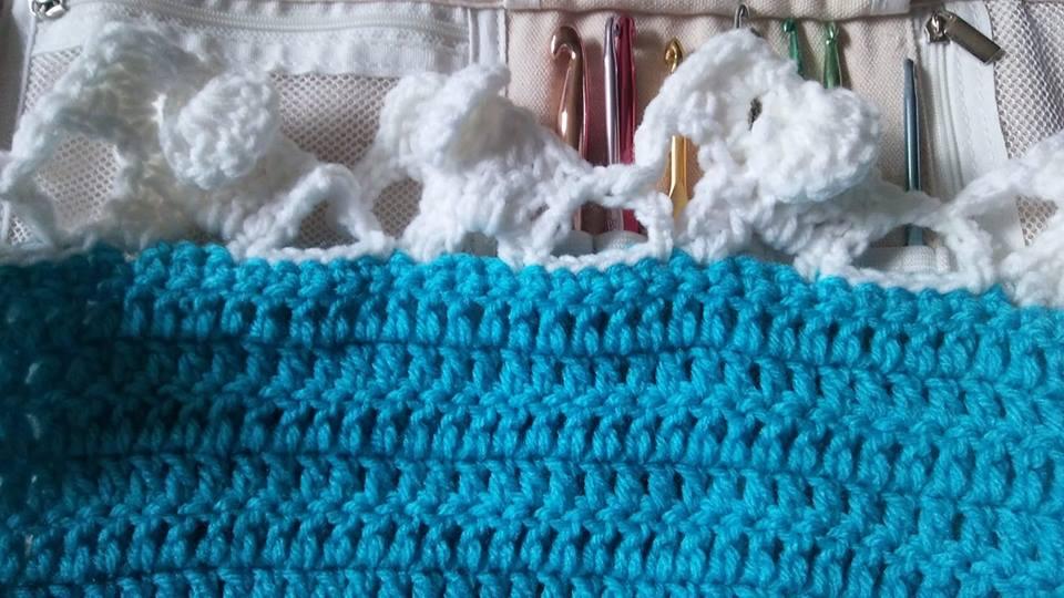 Crochet Elephant Edging - Free Tutorial - DIY 4 EVER | 540x960