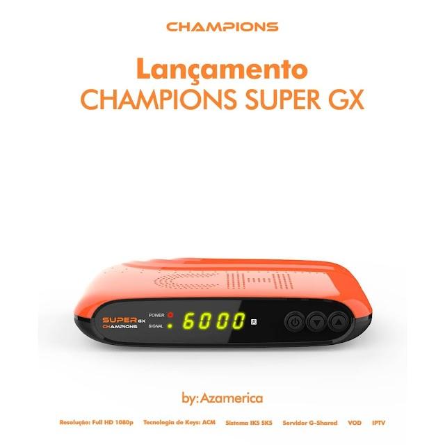 AZAMERICA CHAMPIONS SUPER GX NOVA ATUALIZAÇÃO V1.11 - 10/09/2021