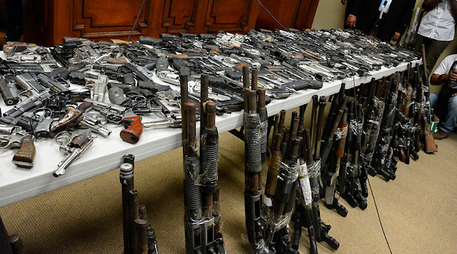 85 capturados en La Guajira por portar armas ilegales