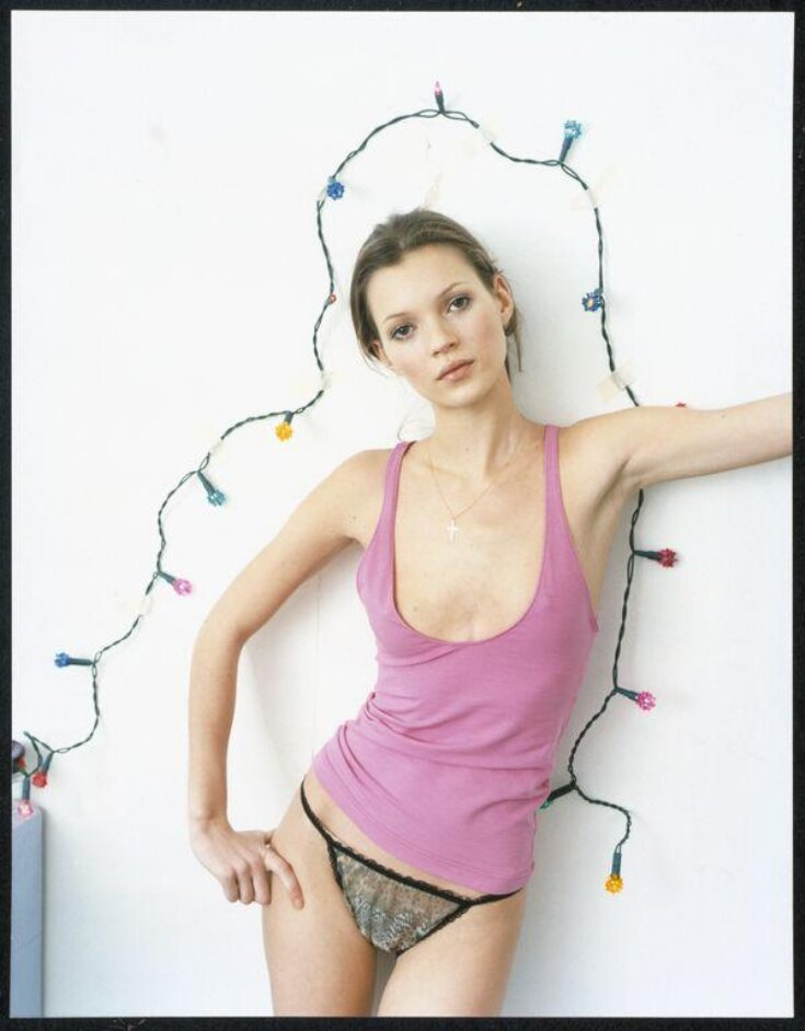 Corinne Day's untitled photograph of Kate Moss, for the Vogue fashion story 'Under Exposed', 1993