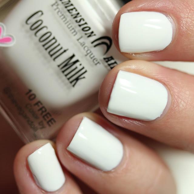 Dimension Nails Coconut Milk swatch