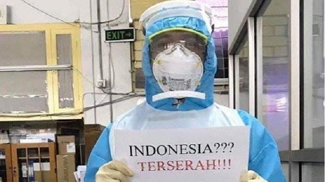 Viral Tagar 'Indonesia Terserah', Ahli Psikologi: Tenaga Medis akan Kewalahan, Jadi Mereka Protes