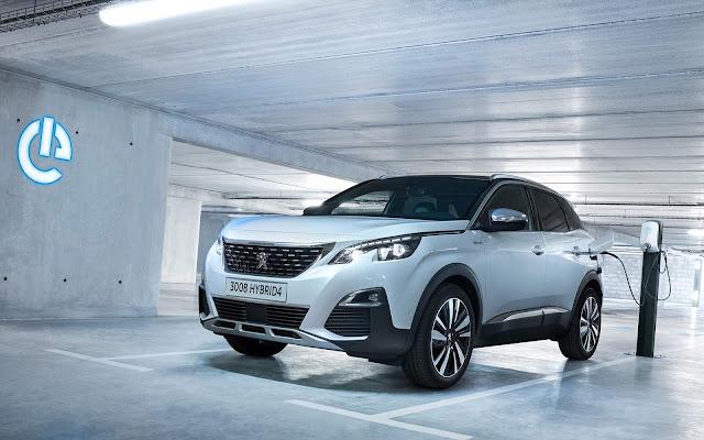 Peugeot 3008 ganha versão 4x4 híbrida plug-in
