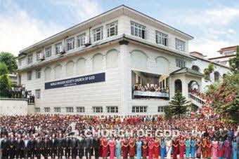 ネパール カトマンズ神様の教会
