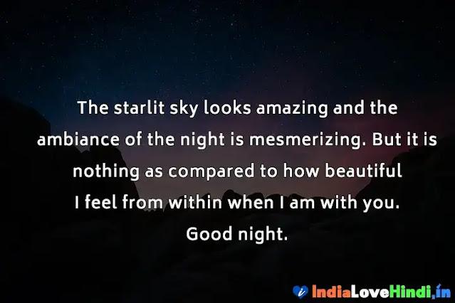 good night message for boyfriend far away