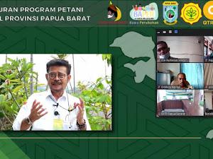 Mentan Gandeng Stafsus Presiden Billy Mambrasar, Luncurkan Program Petani Milenial di Papua Barat