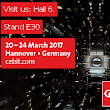 Visit us for a Lecture on digitalization of logistics @ CeBIT