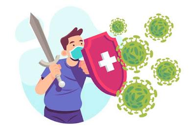 perang melawan virus corona covid-19