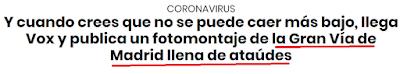 O Vox de Espanha