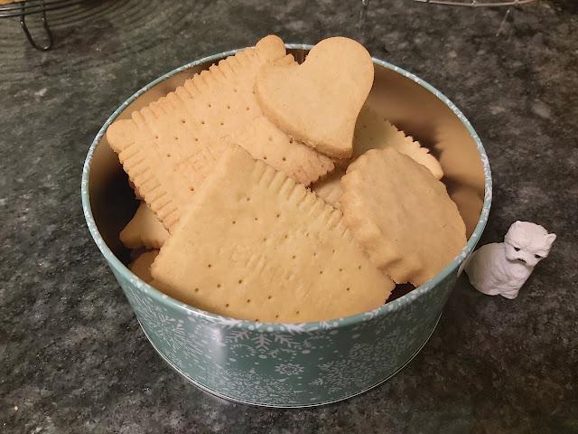 Galletas de mantequilla sin gluten y sin azúcar