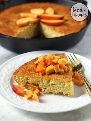 http://turniptheoven.com/nectarine-skillet-cake/