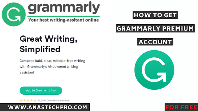 get Grammarly premium for free