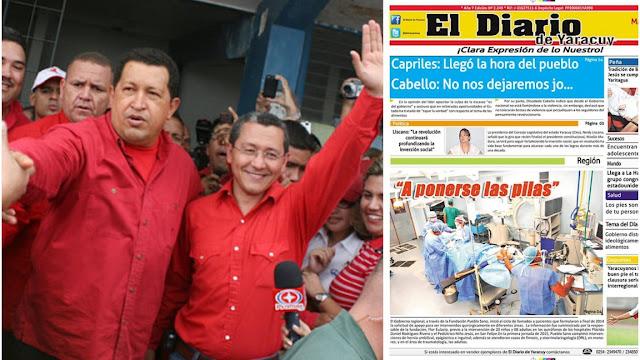 Otro ataque a la prensa: León Heredia ordenó expropiar El diario de Yaracuy