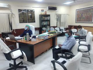 madhubani-dm-inspact-covid-meeting