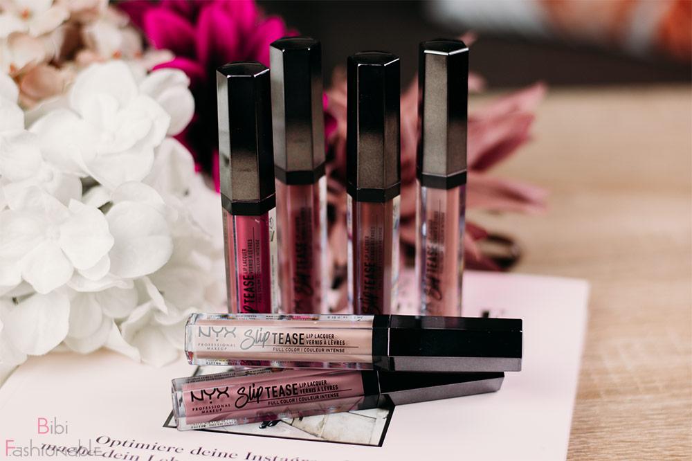 NYX Professional MakeUp Slip Tease Lip Laquer Titelbild