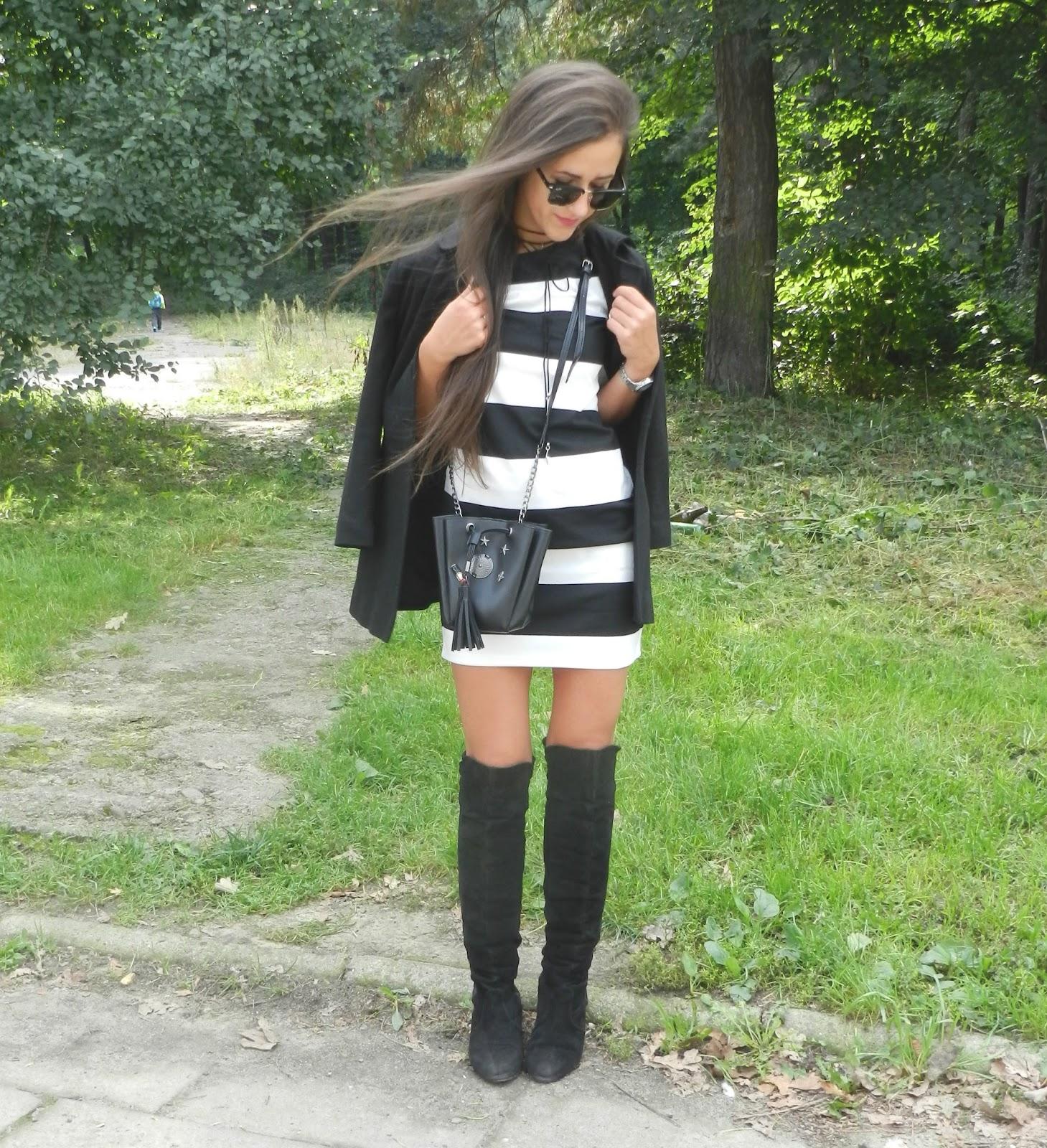 http://patrisyastyle.blogspot.com/2016/09/sukienka-w-paski-kozaki-nad-kolano-z-sh.html