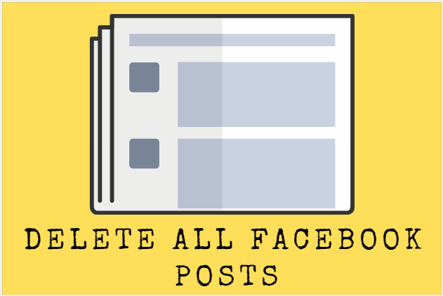How to Delete All Post In Facebook