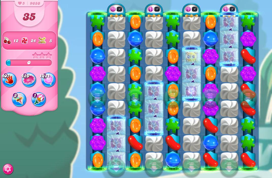 Candy Crush Saga level 9680