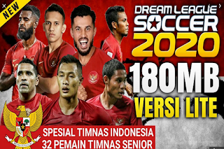 DLS 2020 MOD TIMNAS INDONESIA EDITION 2020 HD