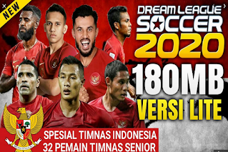 Download Game Android DLS 2020 MOD TIMNAS INDONESIA EDITION 2020 HD