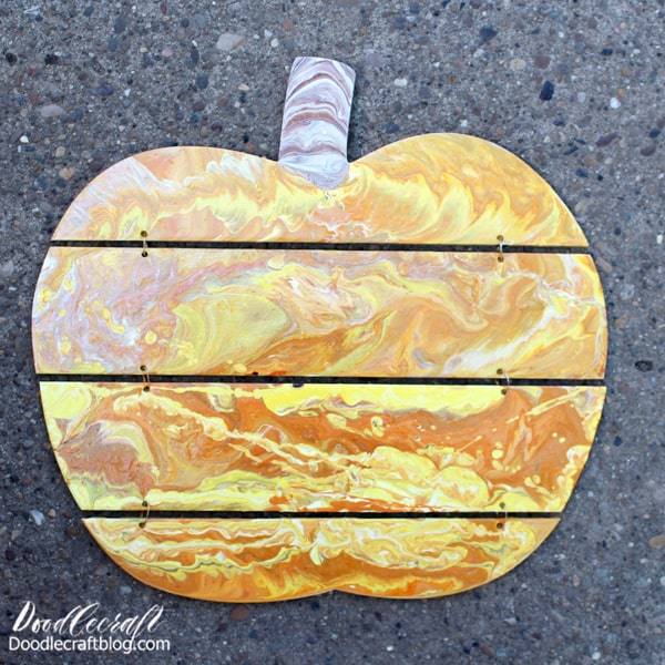 Autumn is just around the corner, you can practically smell the pumpkin spice! This fun paint poured pumpkin is the perfect Fall decor...but it's best to do it now, because it takes weeks to cure!