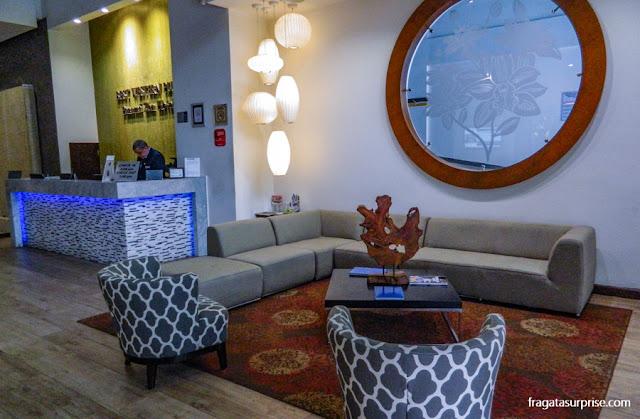 Recepção do Hotel Best Western Panama Zen, Cidade do Panamá