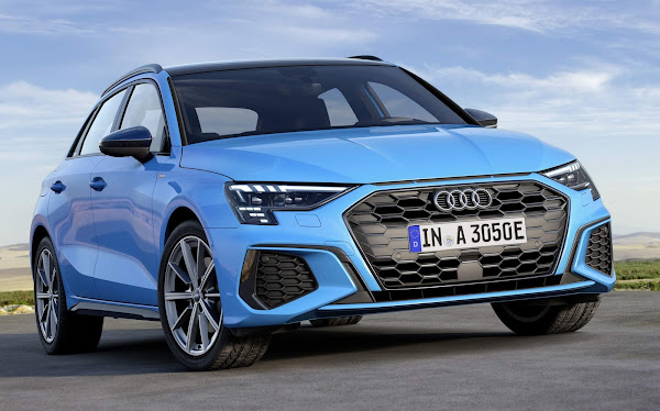 Audi A3 Sportback Híbrido Plug-in tem autonomia de 78 km
