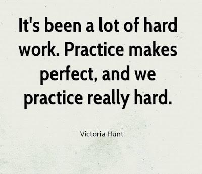Practice Hard Quotes