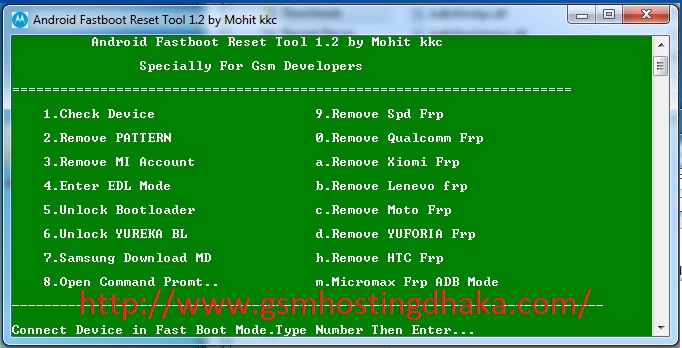 Android Fastboot Reset FRP Tool 100% Working | - Frimwer