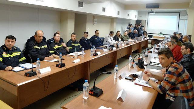 Συνεδρίασε το Συντονιστικό Πολιτικής Προστασίας Έβρου ενόψει της νέας αντιπυρικής περιόδου