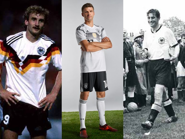 huge discount d0f68 f24d3 1934 - 2018: Here Are All Germany World Cup Home Kits in ...