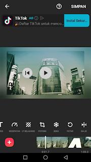 Cara edit video membalik video menggunakan aplikasi Inshot di Android