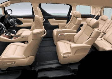 All New Toyota Alphard 2018 Interior
