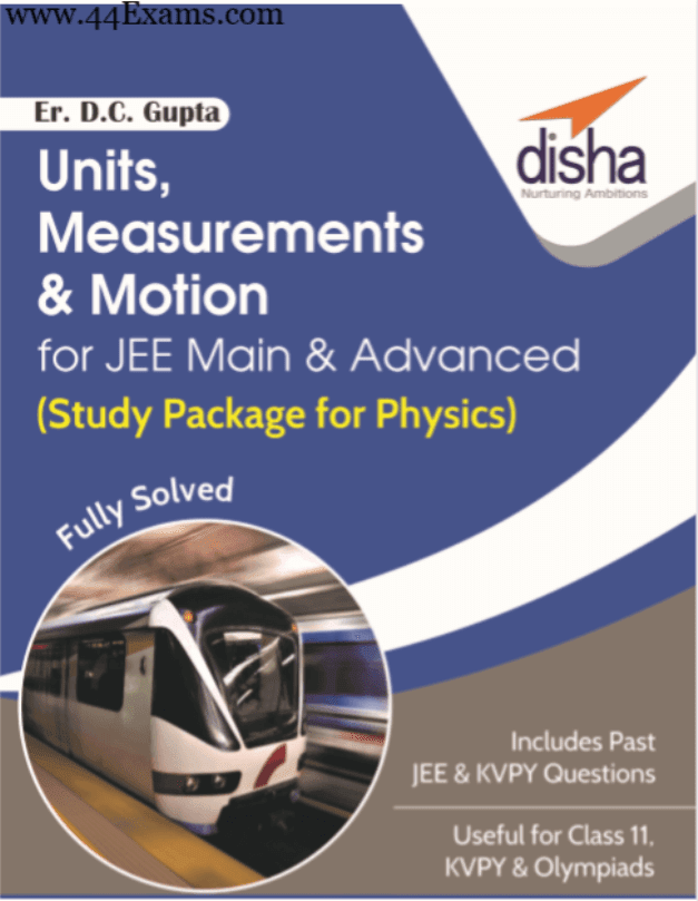 Units-Measurements-and-Motion-by-Disha-Publication-For-JEE-Main-and-Advanced-Exam-PDF-Book