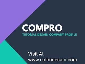 Tutorial Desain Company Profile