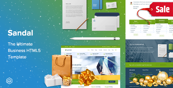 business responsive HTML template