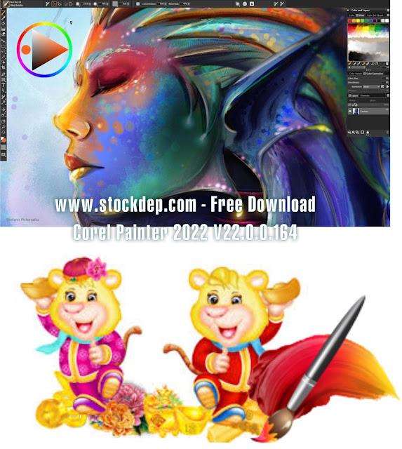Hướng Dẫn Download Corel Painter 2022 V22.0.0.164