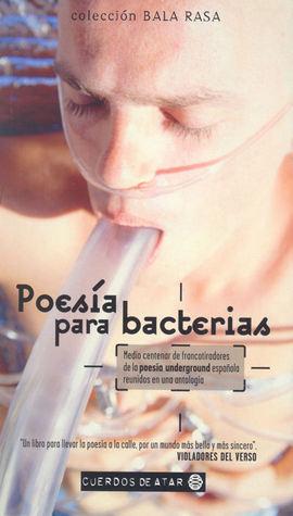 Poesía para bacterias, antología de Sergi Puertas (varios autores)