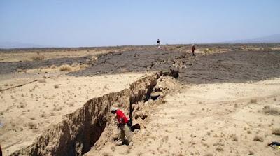 Ρήγμα στο έδαφος της Αιθιοπίας προμηνύει διαχωρισμό της Αφρικής
