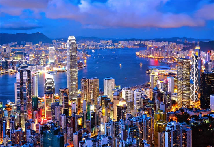 12. Hong Kong, China - 30 Best and Most Breathtaking Cityscapes