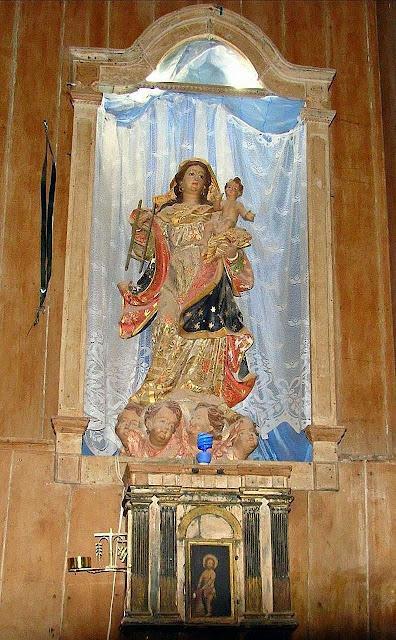 A devoção a Nossa Senhora da Escada se espalhou pelo Brasil. Nossa Senhora da Escada, Guararema, SP